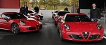 Alfa Romeo 4C: First Customer Deliveries
