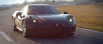 Alfa Romeo 4C Gets Pushed Hard on Track [Video]
