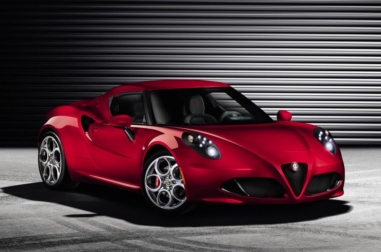 Alfa Romeo 4c Officially Revealed Ahead Of Geneva