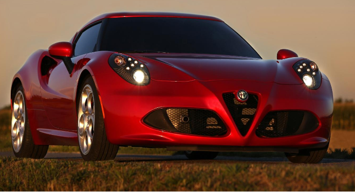 Alfa Romeo 4C UK Pricing Announced