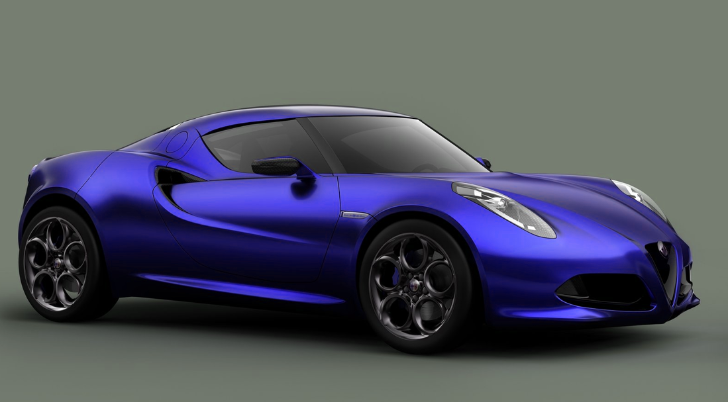 Alfa Romeo 4C Will Be Launched With 240 PS Engine