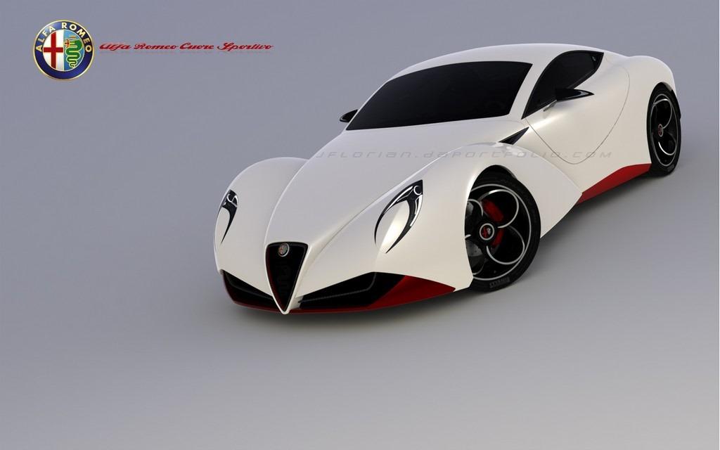 Alfa Romeo 6c Cuore Sportivo Concept Autoevolution