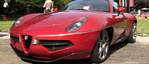 Alfa Romeo Disco Volante: Amazing V8 Sound [Video]