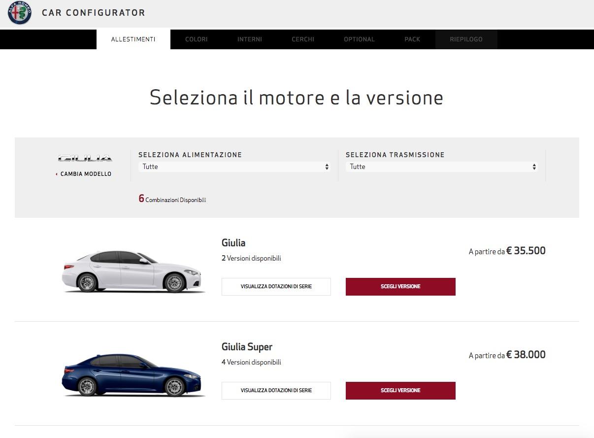 alfa romeo giulia price starts at 35 500 giulia quadrifoglio is 79 000 autoevolution. Black Bedroom Furniture Sets. Home Design Ideas
