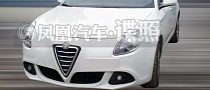 Alfa Romeo Giulietta Spotted Testing in China