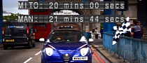 Alfa Romeo MiTo Beats... a Man Across London [Video]