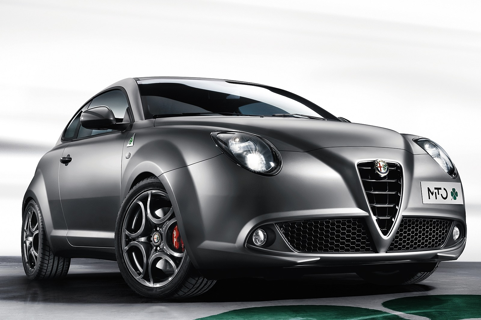 alfa romeo mito quadrifoglio verde gets new matte magnesio gray paint autoevolution. Black Bedroom Furniture Sets. Home Design Ideas