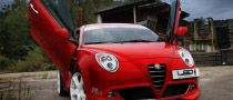 Alfa Romeo MiTo with Gullwing Doors