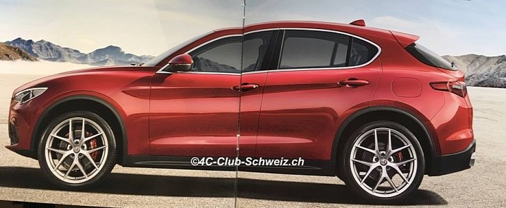 alfa romeo stelvio first edition brochure leaked priced from chf 66 500 autoevolution. Black Bedroom Furniture Sets. Home Design Ideas