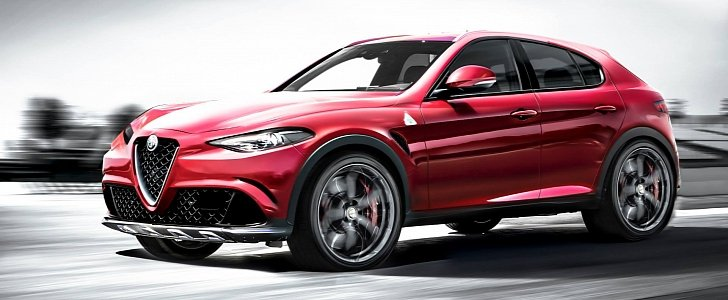 alfa romeo stelvio tipo 949 d suv name confirmed production starts in q4 2016 autoevolution. Black Bedroom Furniture Sets. Home Design Ideas
