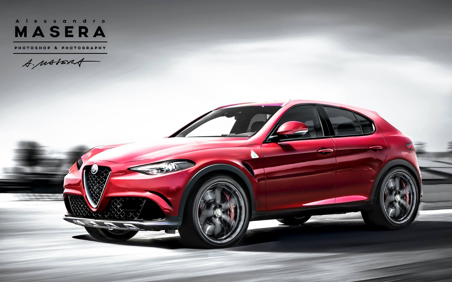 Alfa Romeo Stelvio Tipo 949 D Suv Rendering