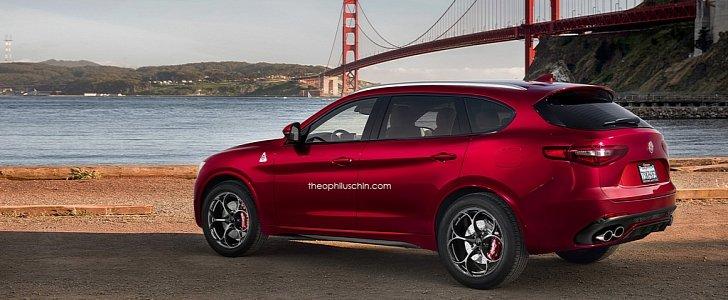 Alfa Romeo Stelvio Xl Rendering Adds Space To Italian