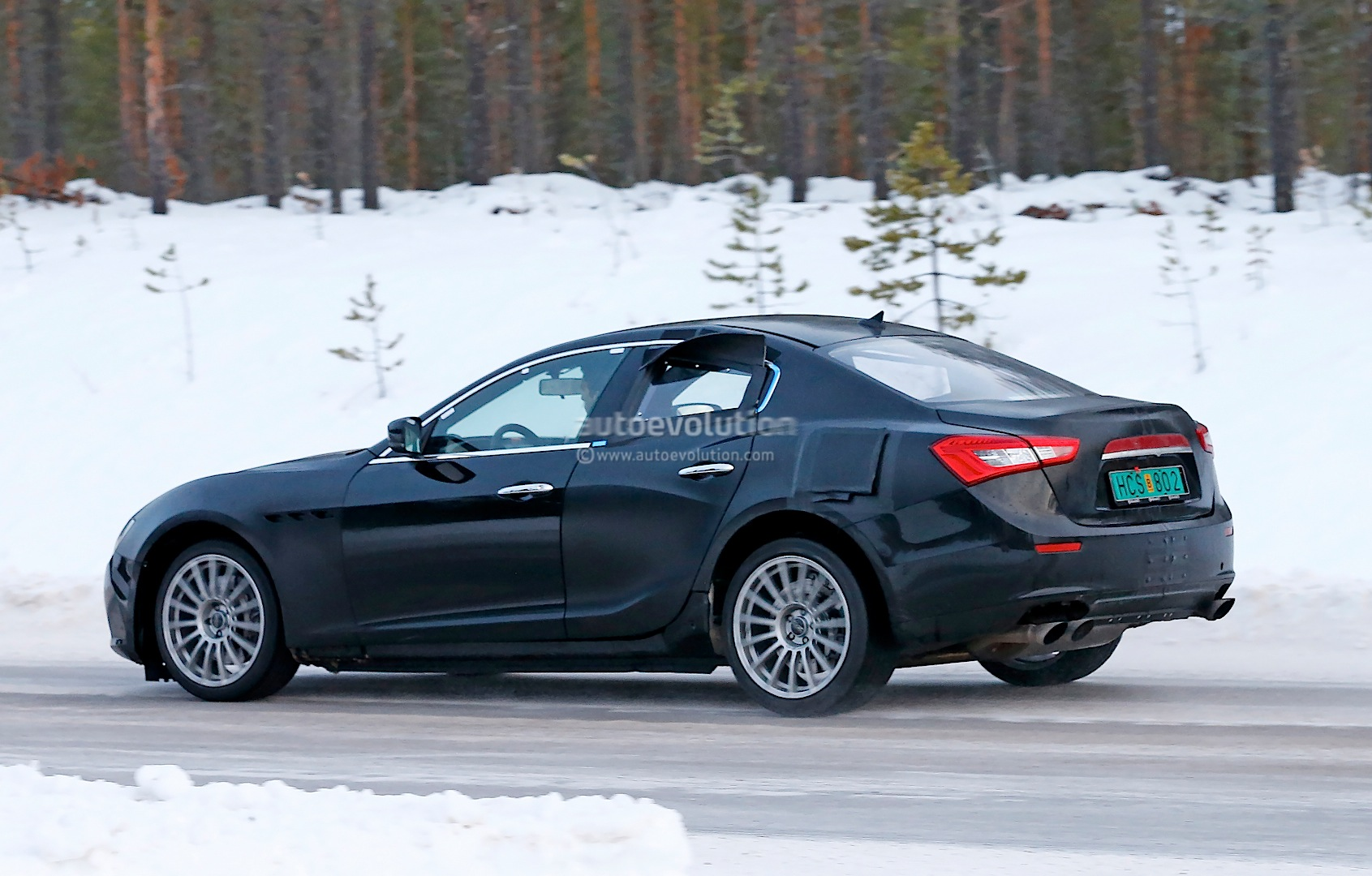 Alfa Romeo Tipo Spied Winter Testing It S A Giulia Sedan Test