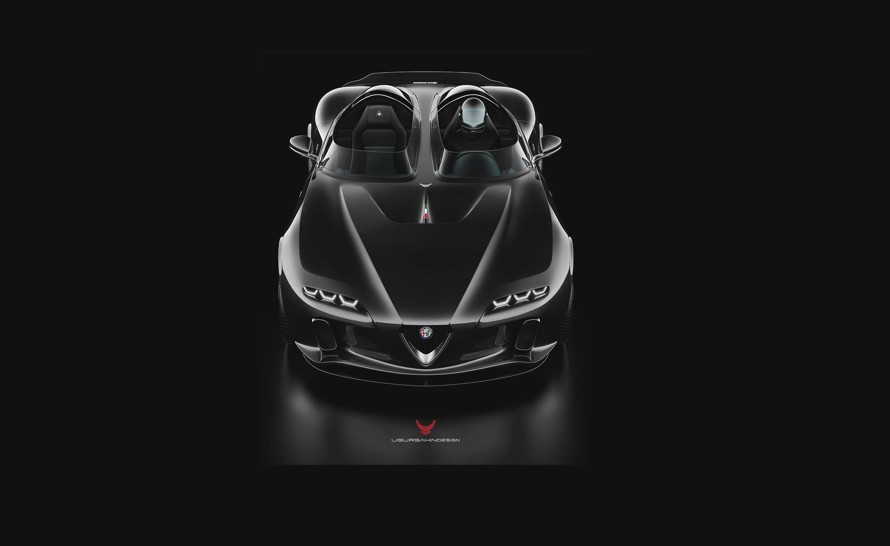 Alfa Romeo Usd Barchetta Design Study Looks Marvelous Ideally Packs 700 Hp Autoevolution