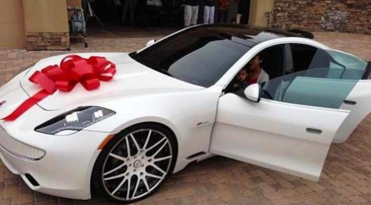 Alicia Keys Gets Fisker Karma from Swizz Beats