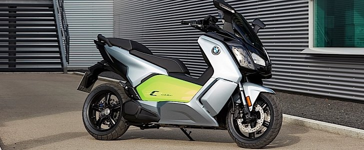 All-Electric 2018 BMW C Evolution Scooter Reaches U.S. Dealers - autoevolution