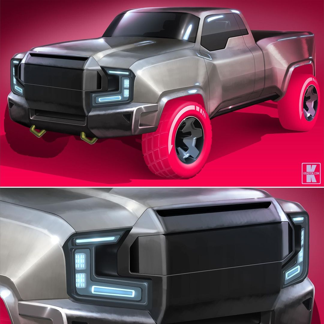 All-Electric Ford F-150 Lightning Shows Rugged Retro ...