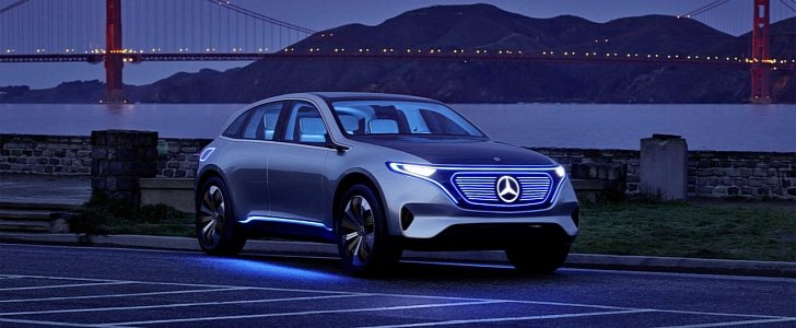 All mercedes benz cars to have electric versions by 2022 for All electric mercedes benz
