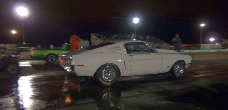 All Motor 1968 Ford Mustang Runs 10-Second Quarter Mile [Video]