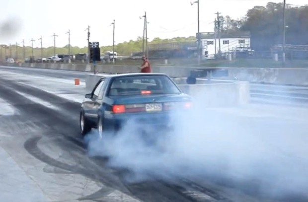 All Motor Fox-body Mustang Runs 9-Second Quarter Mile