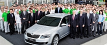 All-New 2013 Skoda Octavia Enters Production at Mlada Boleslav Factory