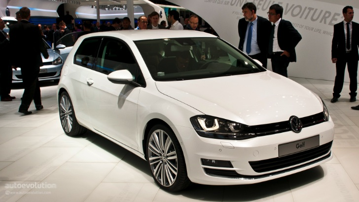 All-New 2013 Volkswagen Golf Starts at £16,330 in the UK - autoevolution