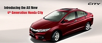All-New 2014 Honda City Revealed in India
