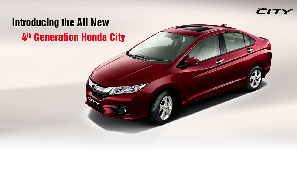 All New 2014 Honda City Revealed In India