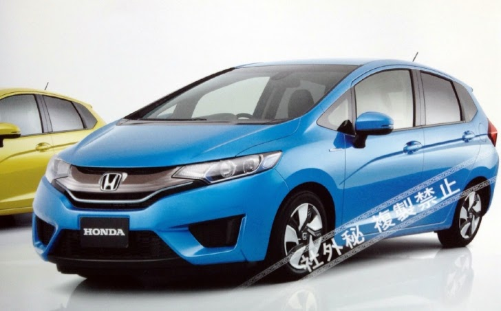 All New 2014 Honda Fit Jazz Leaked Autoevolution
