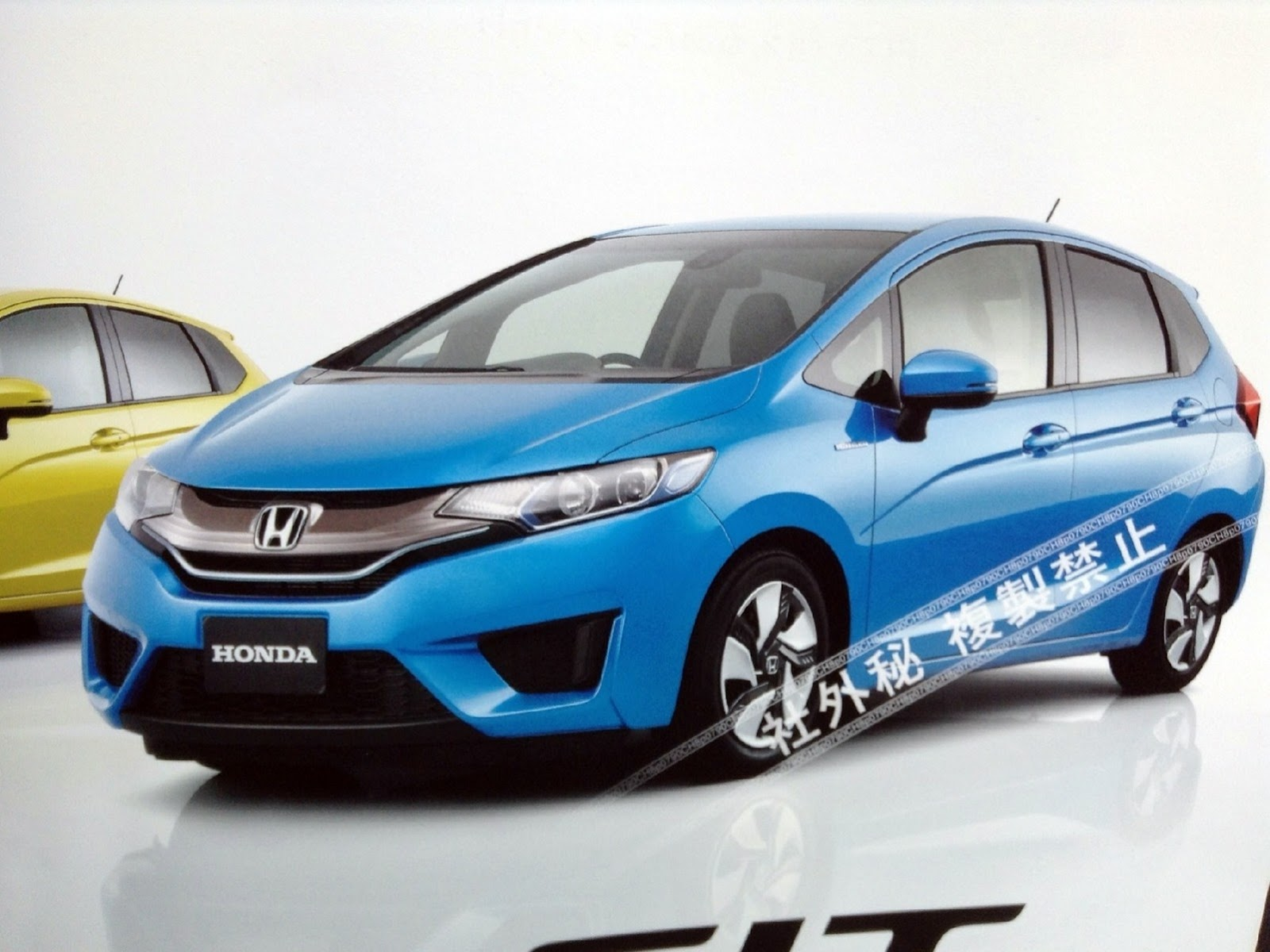 All-New 2014 Honda Fit / Jazz Leaked - autoevolution