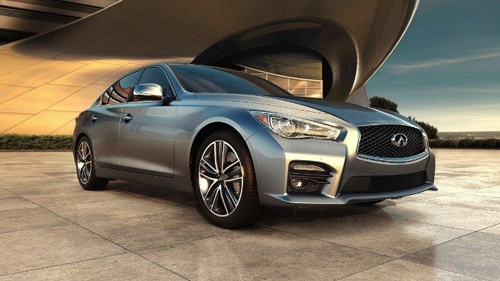 All-New 2014 Infiniti Q50 Sedan Unveiled [Photo Gallery]