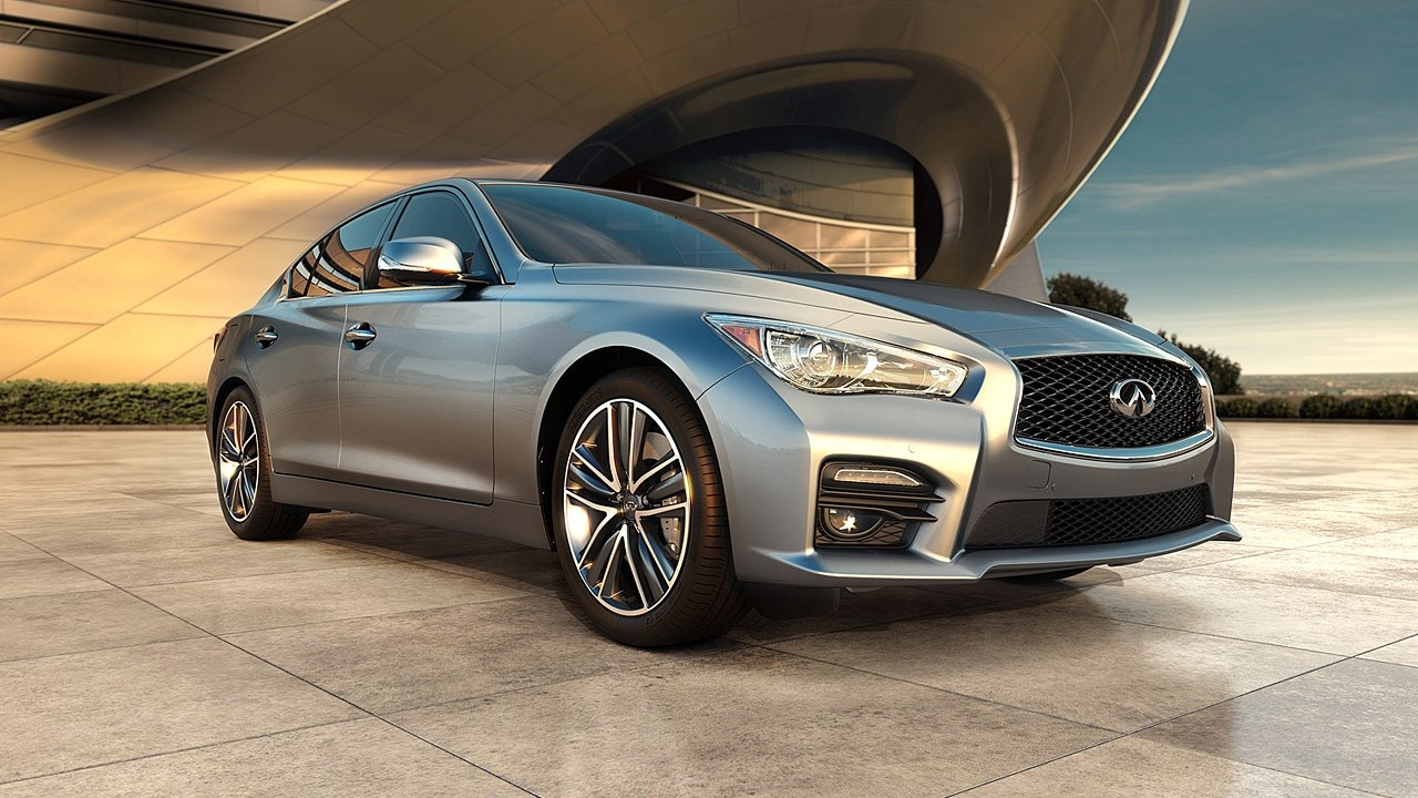 all new 2014 infiniti q50 sedan unveiled autoevolution. Black Bedroom Furniture Sets. Home Design Ideas