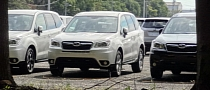 All-New 2014 Subaru Forester Photographed in the Open