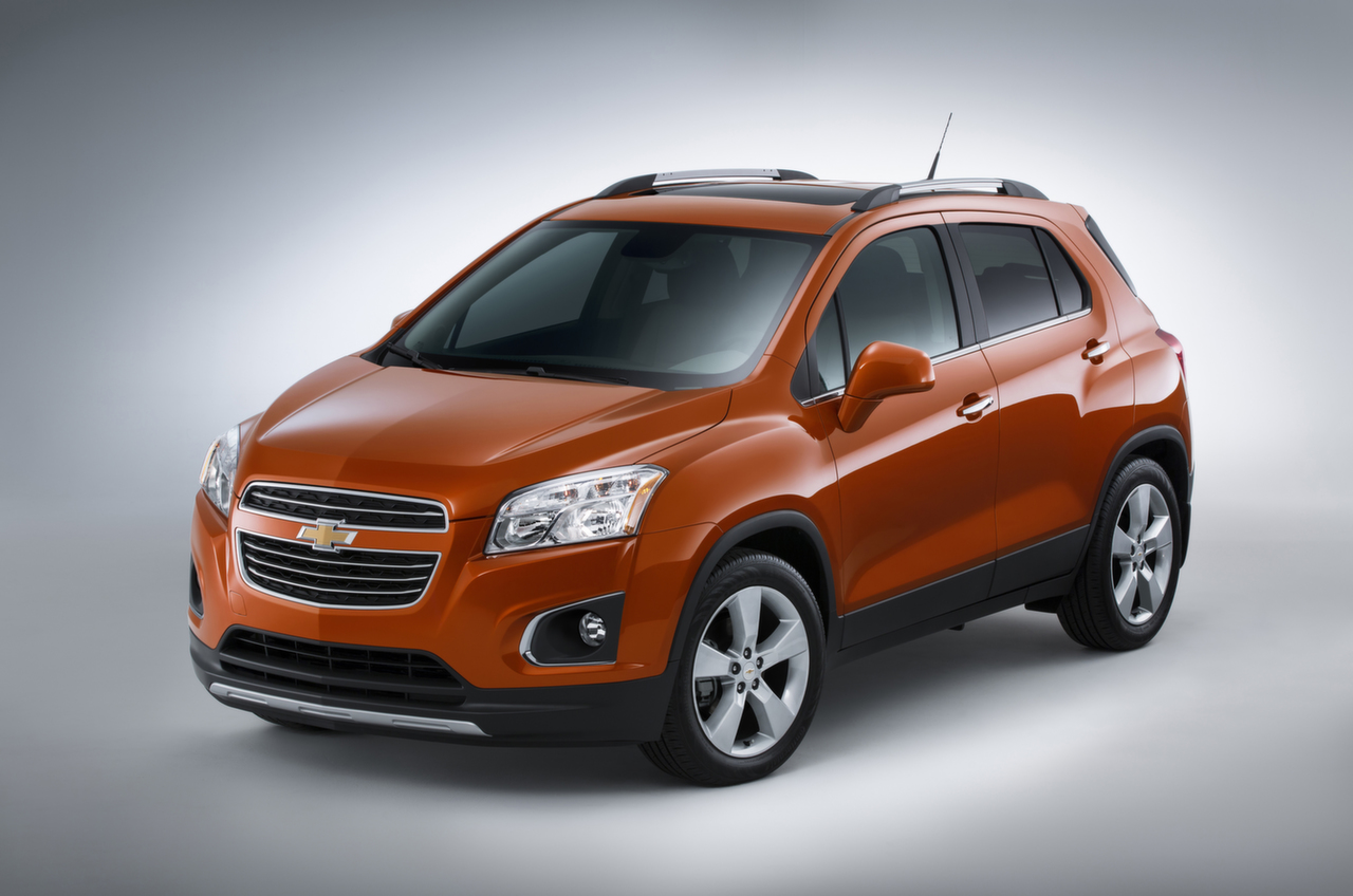 All-New 2015 Chevrolet Trax Breaks Cover [Video ...