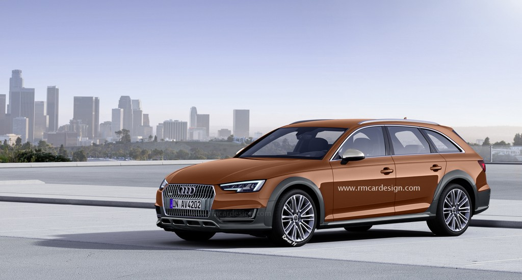 All New 2016 Audi A4 Allroad To Debut Next Spring At 2016