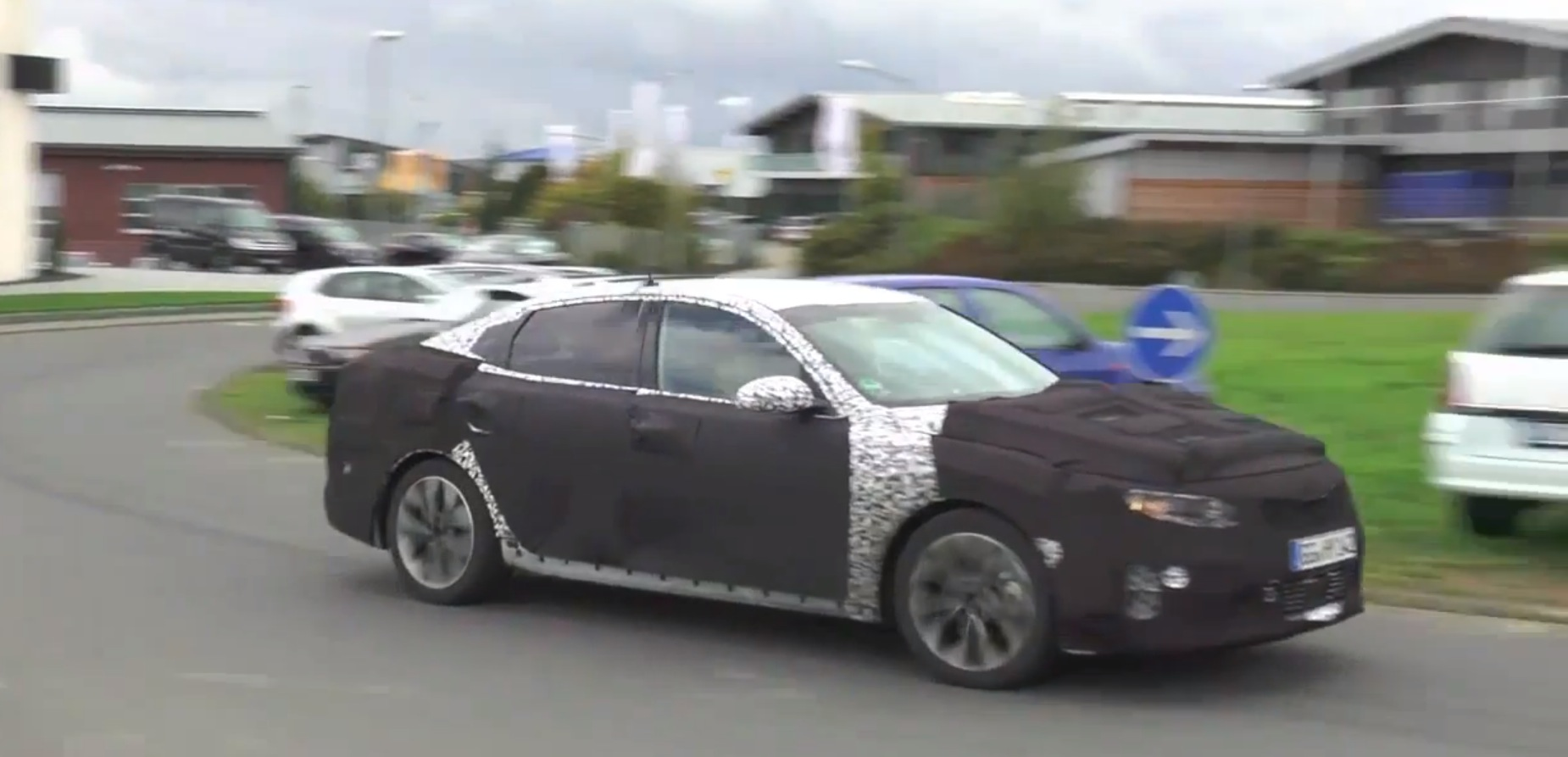 All new 2016 kia optima tuned 20l turbo on sport model spied 5 photos sciox Images