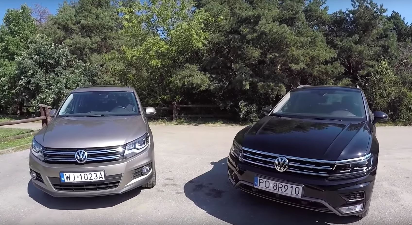 All New Volkswagen Tiguan Gets Compared To The Old Suv