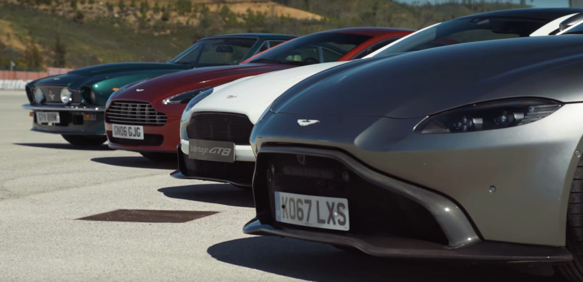 AllNew Aston Martin Vantage Reviewed Against Previous Generations - Aston martin vantage review