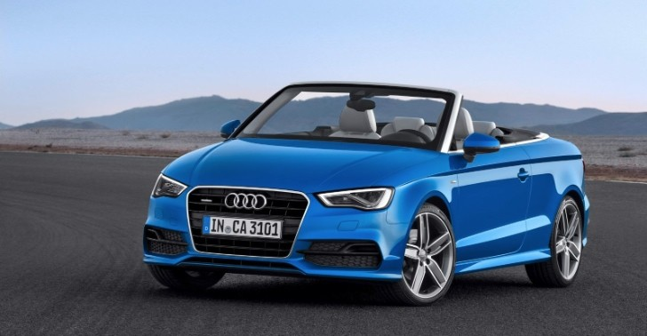 All-New Audi A3 Cabriolet Revealed [Photo Gallery]