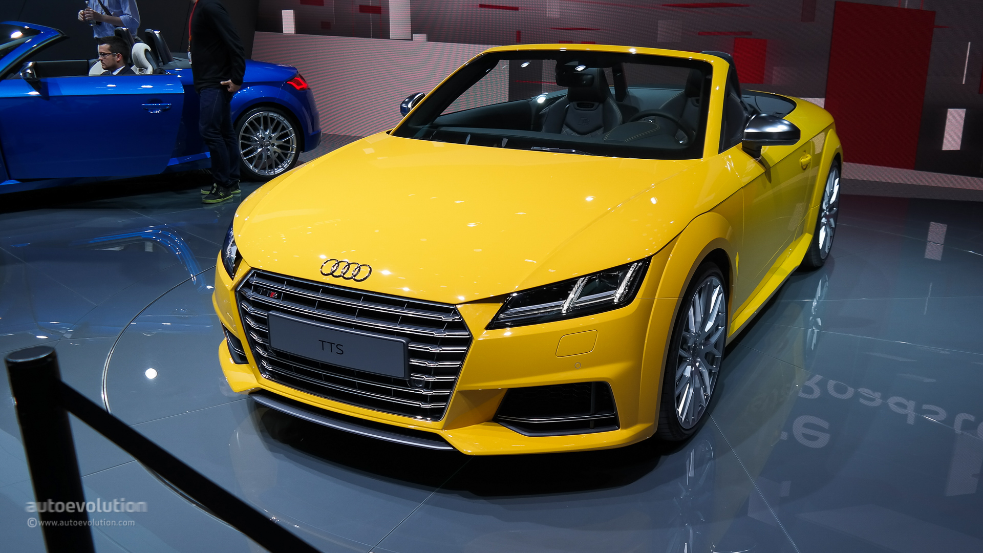 all new audi tt and tts to make us debut at los angeles auto show as 2016 models autoevolution. Black Bedroom Furniture Sets. Home Design Ideas