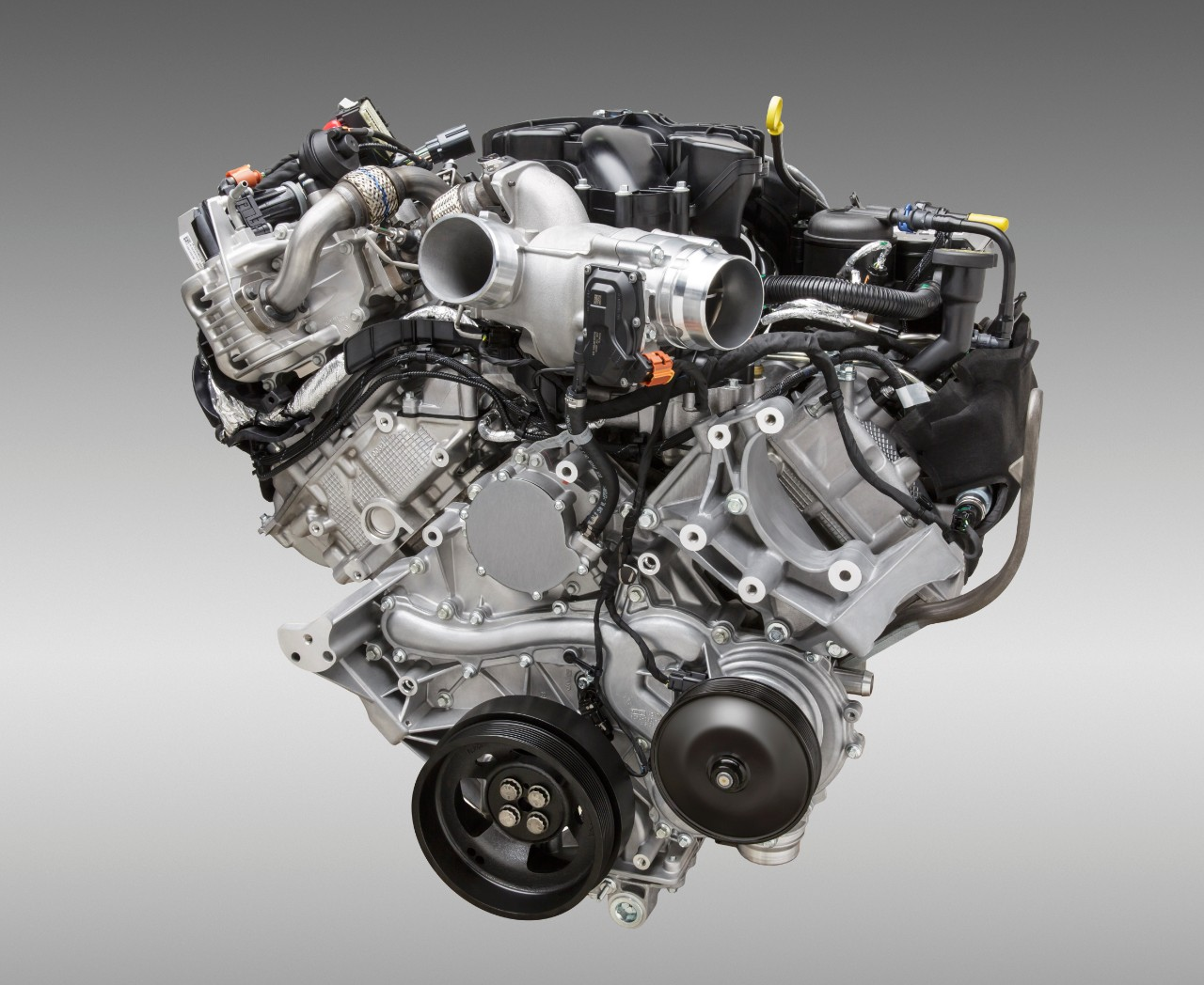 6.7-L Power Stroke V8 turbo diesel