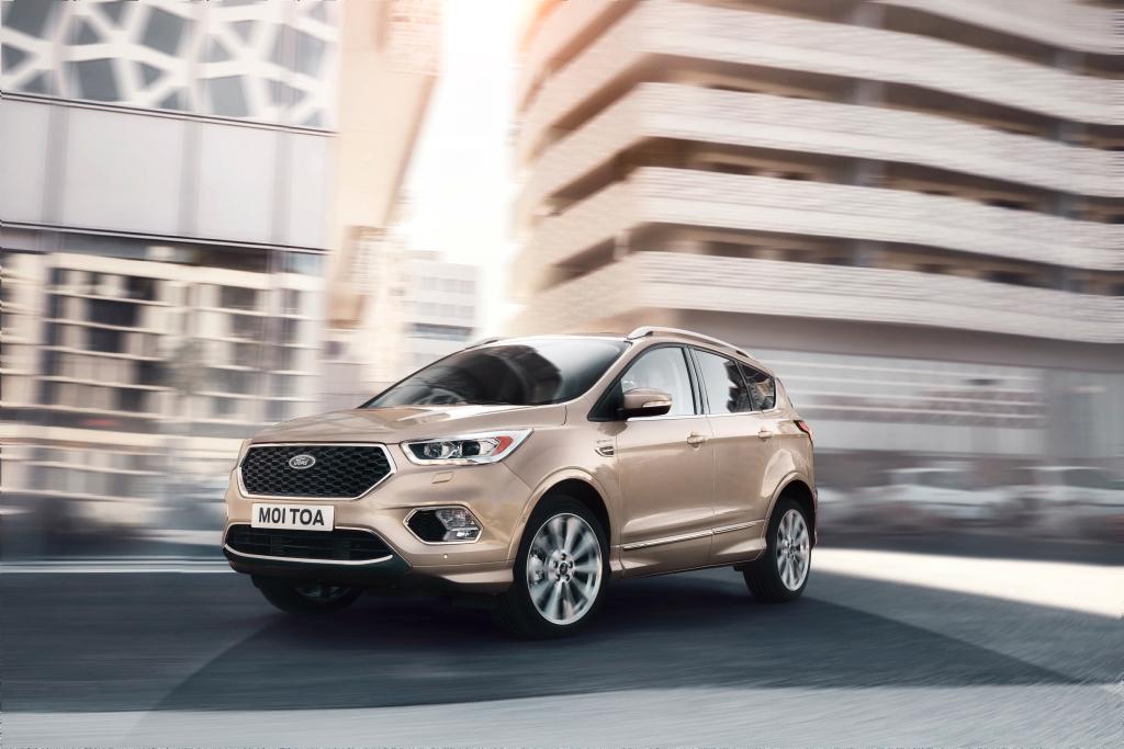 all new ford kuga escape coming in 2019 with 284 hp rs model and phev autoevolution. Black Bedroom Furniture Sets. Home Design Ideas