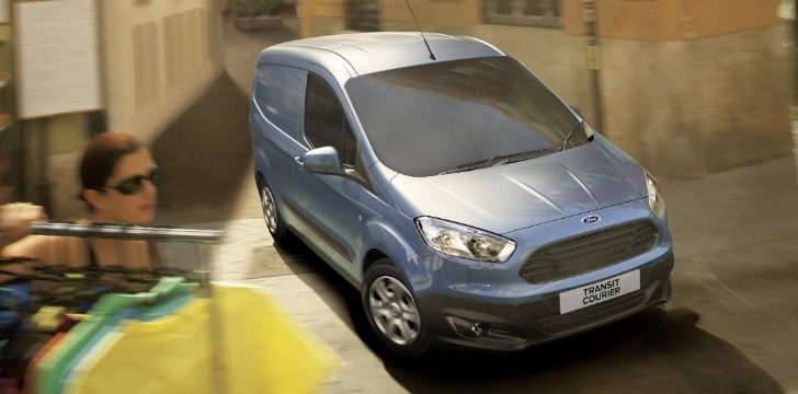 All-New Ford Transit Courier Revealed [Photo Gallery]