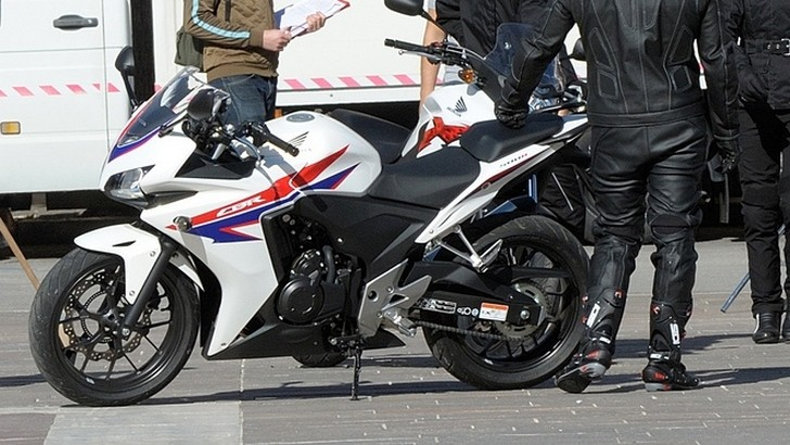 All-new Honda CB500 Bikes Spotted [Photo Gallery]