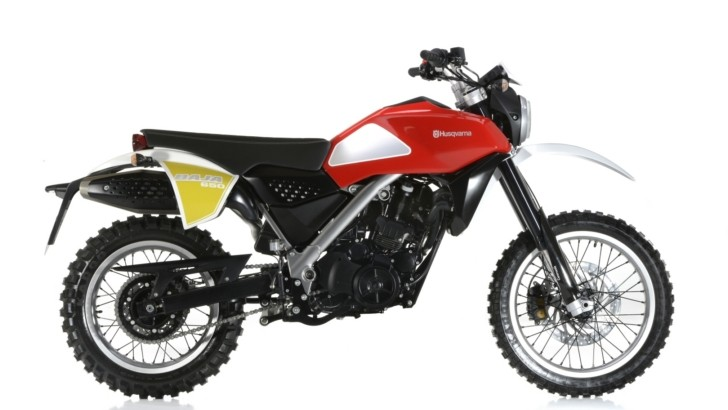 All-New Husqvarna Concept Baja Motorcycle