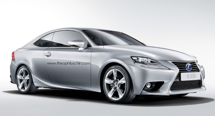 All-New Lexus IS Coupe Rendering