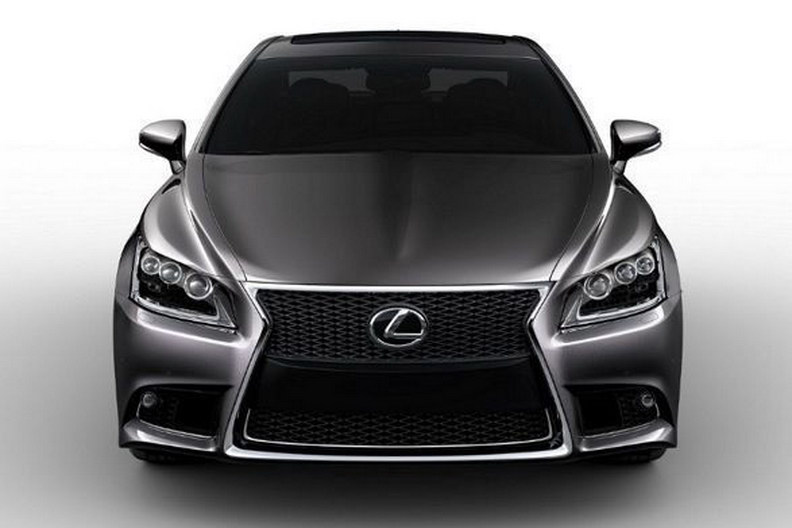 All-New Lexus LS 460 F Sport Photos Leaked