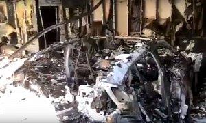 All-New Porsche Taycan Catches Fire, Damages Florida Garage