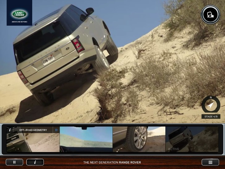All-New Range Rover Gains First-Ever Exploration Driving App
