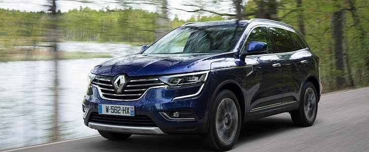 all new renault koleos launched with 1 6 and 2 0 liter diesels in europe autoevolution. Black Bedroom Furniture Sets. Home Design Ideas